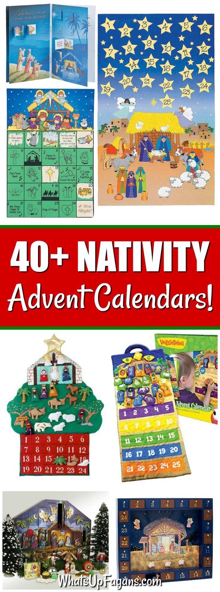 40 Christian Nativity Advent Calendars Focused On Jesus 1