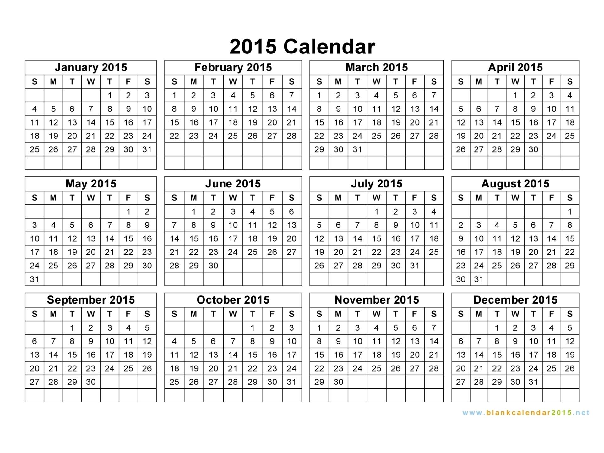 5 Year Calendar On One Page Ten Free Printable Calendar