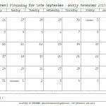 6 Week Calendar Printable Calendar Template 2020