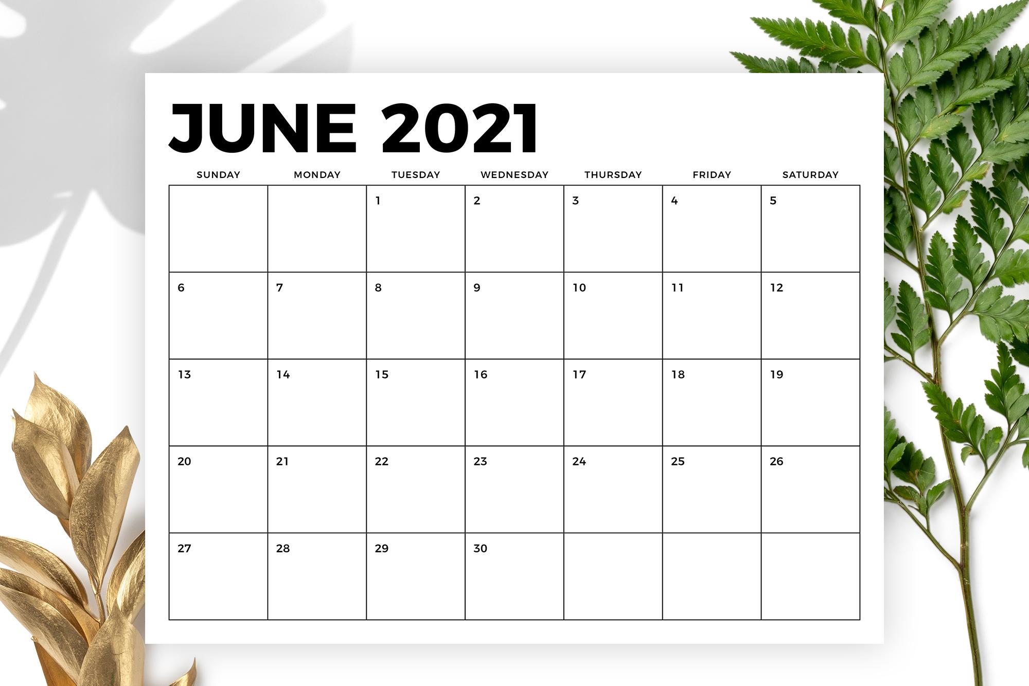 8 5 X 11 Inch Bold 2021 Calendar 1