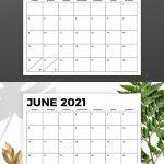8 5 X 11 Inch Bold 2021 Calendar In 2020 Calendar