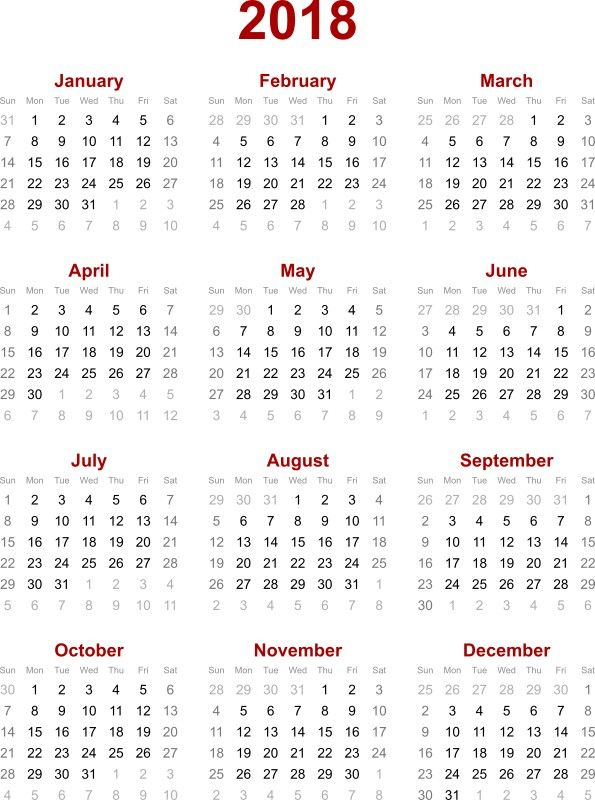 87 Fascinating Printable Calendar Templates With Images
