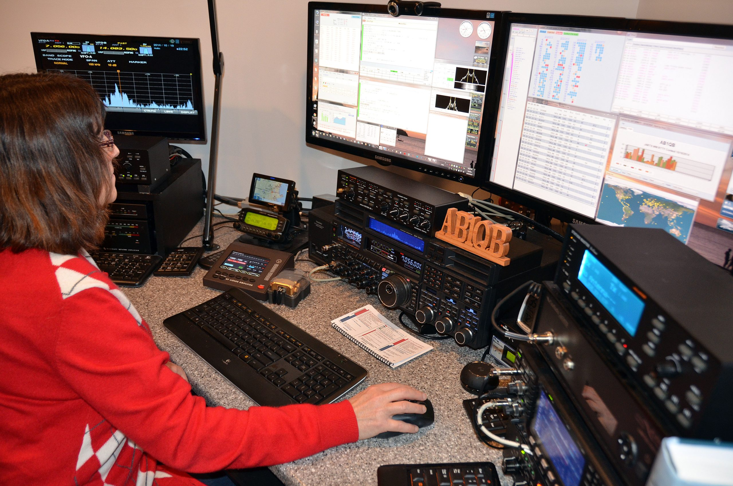 Ab1qb Enters The 2014 Jarts Rtty Contest Our First Use 1
