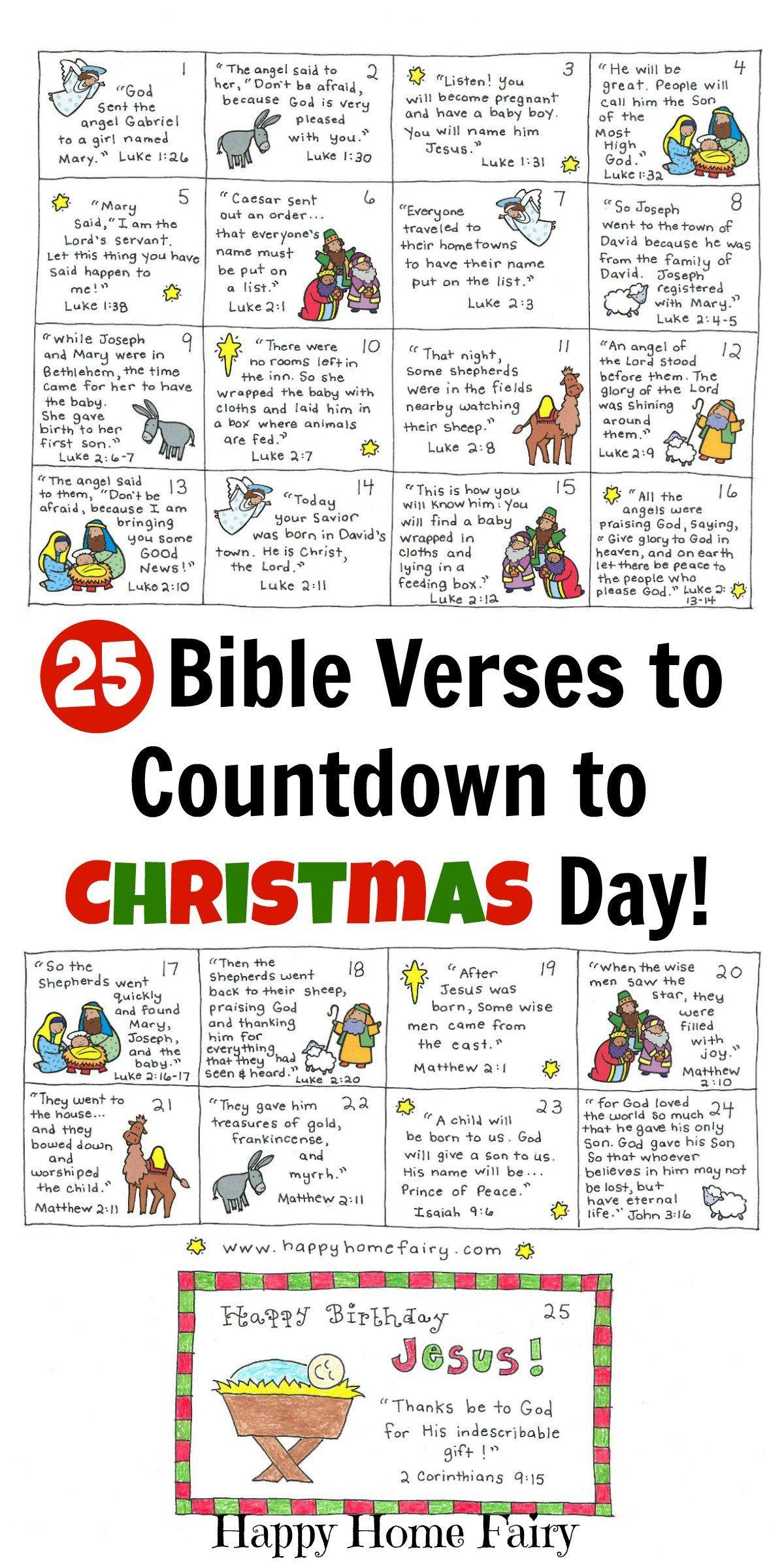 Advent Calendar Daily Quotes Daily Calendar Printable 2020