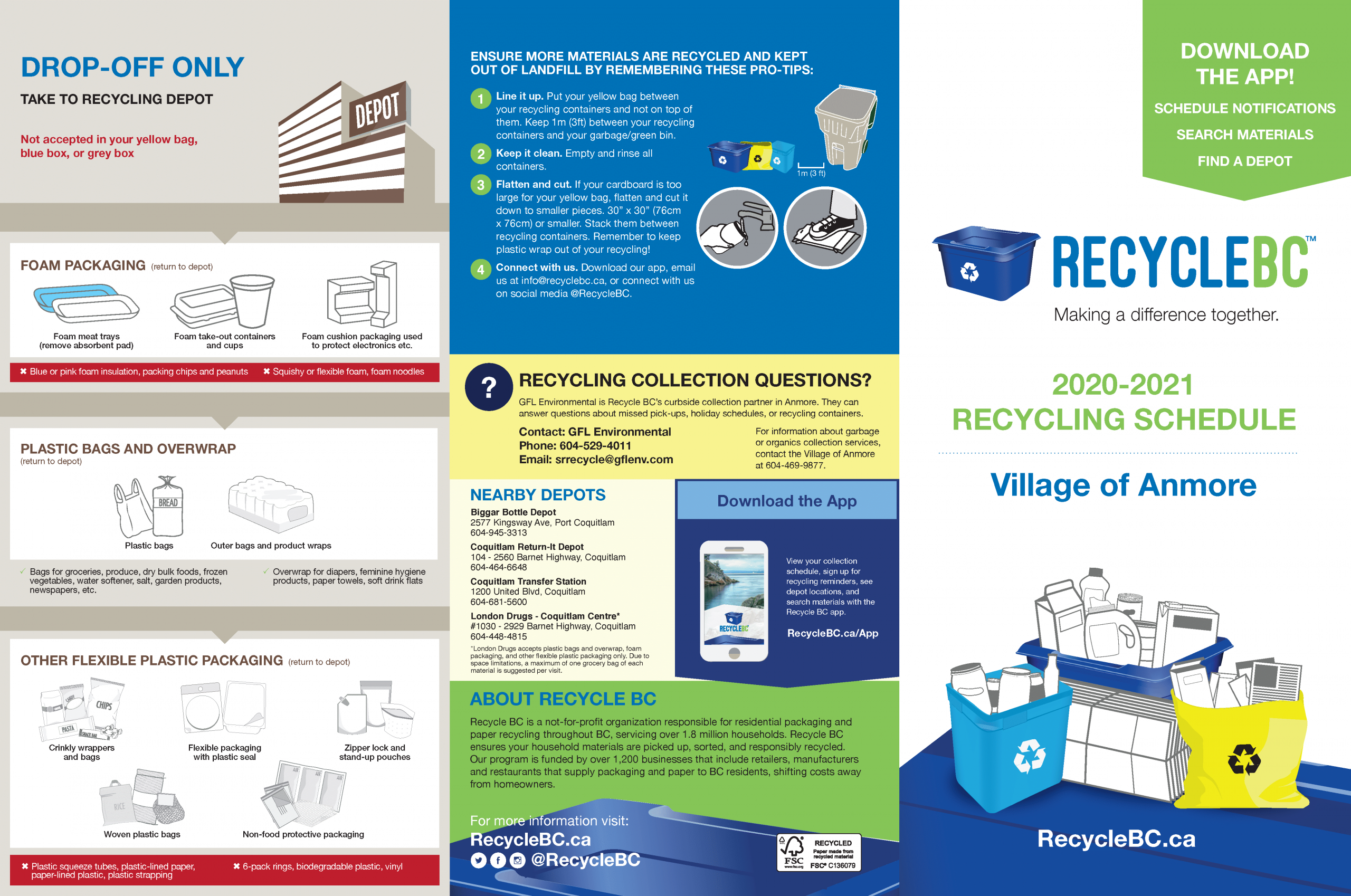 Anmore Recycle Bc Making A Difference Together