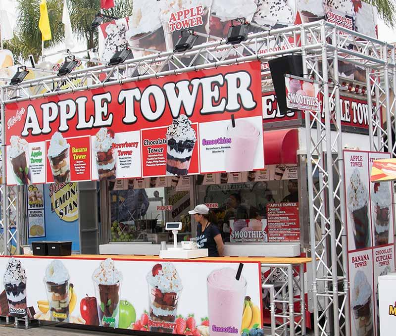 Apple Tower San Diego County Fair