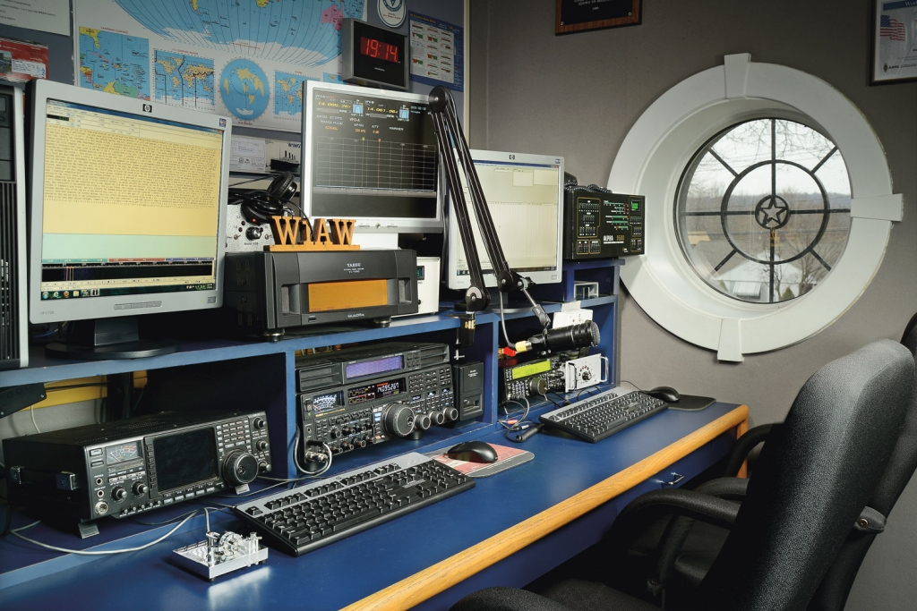 Arrl Hq Tour And Operating W1aw Video