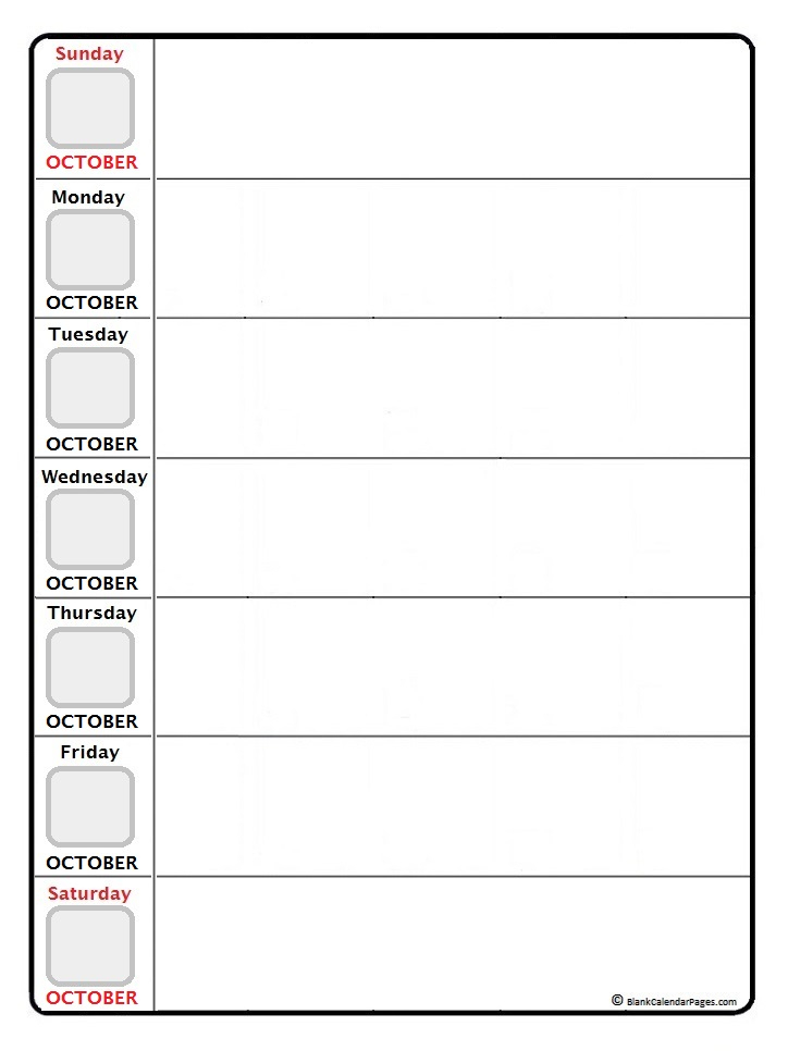 August 2018 Weekly Calendar August 2018 Weekly Calendar 2