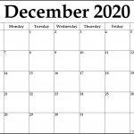 August 2020 Template Calendar Design