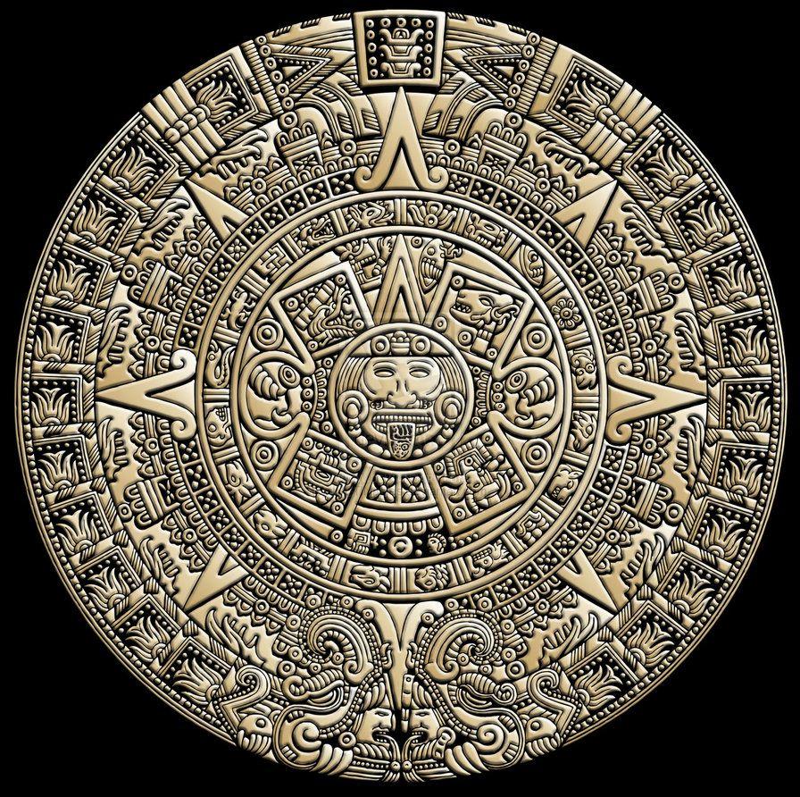 Aztec Calendarjustinaples On Deviantart Aztec Pride