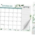 Beautiful 2020 2021 Greenery Desk Calendar 17 X 11 18
