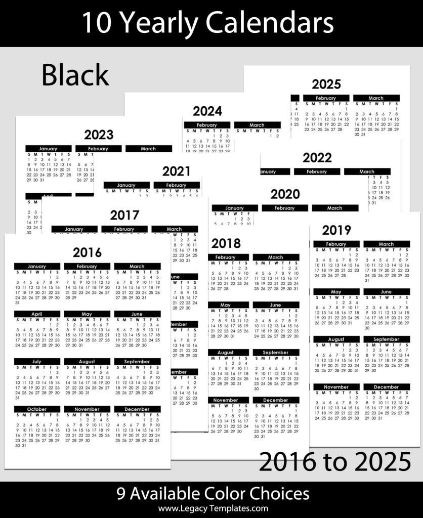 Beautiful A5 Printable Calendar 2020 Calendar 2020