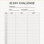 Blank 30 Day Challenge The Art Of A Beautiful Life