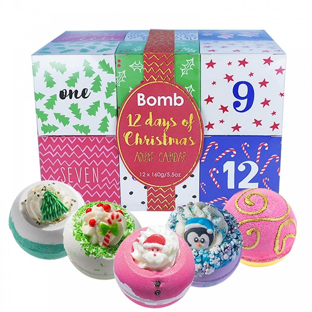 Bomb Cosmetics 12 Days Of Christmas Advent Calendar Bath
