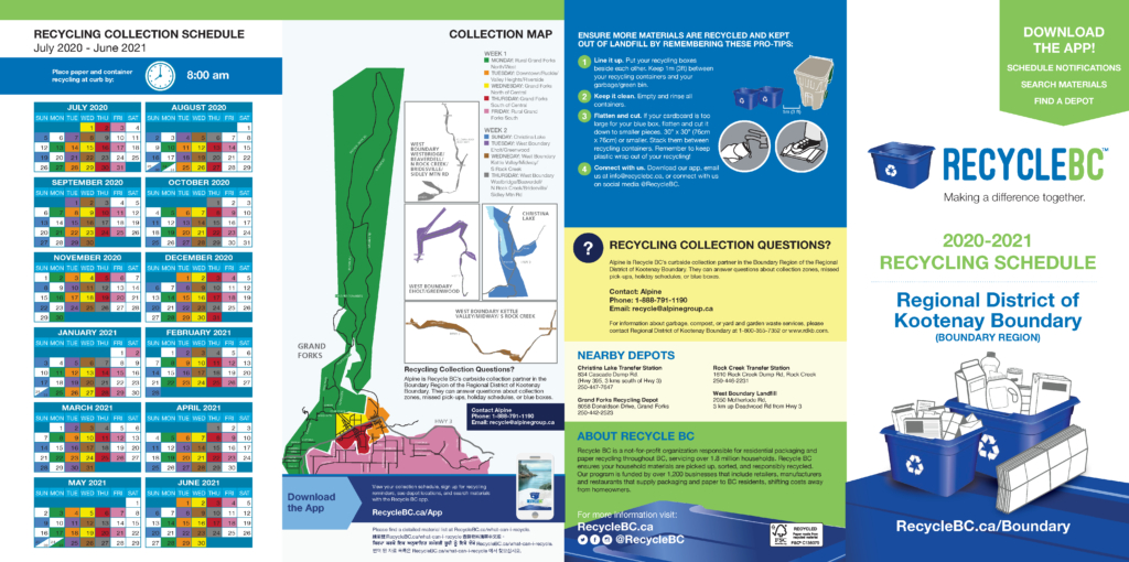 Boundary Region Regional District Of Kootenay Boundary