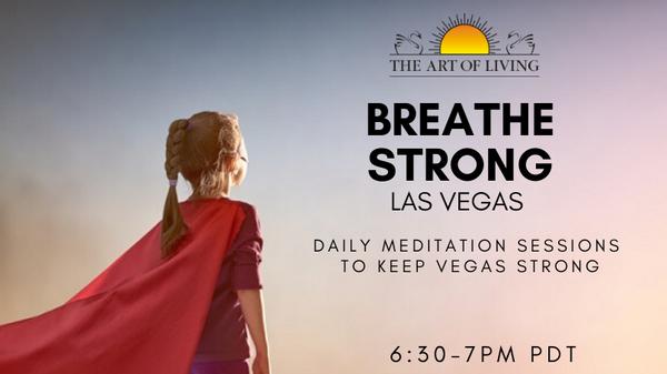 Breathe Strong Vegas Daily Meditations Meetup