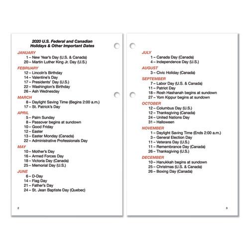 Burkharts Day Counter Desk Calendar Refill 4 5 X 7 38