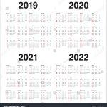 Calendar 2020 2021 Template Calendar Template