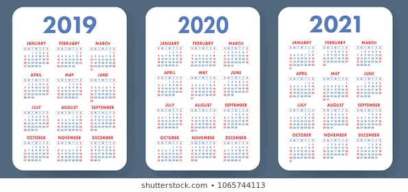 Calendar 2021 Images Stock Photos Vectors Shutterstock