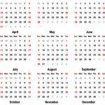 Calendar For 2021 Stock Vector 1507kot 160321058