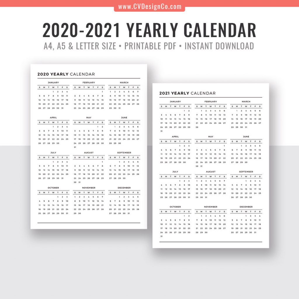 Calendar Week At A Glance Template 2020 Calendar 2