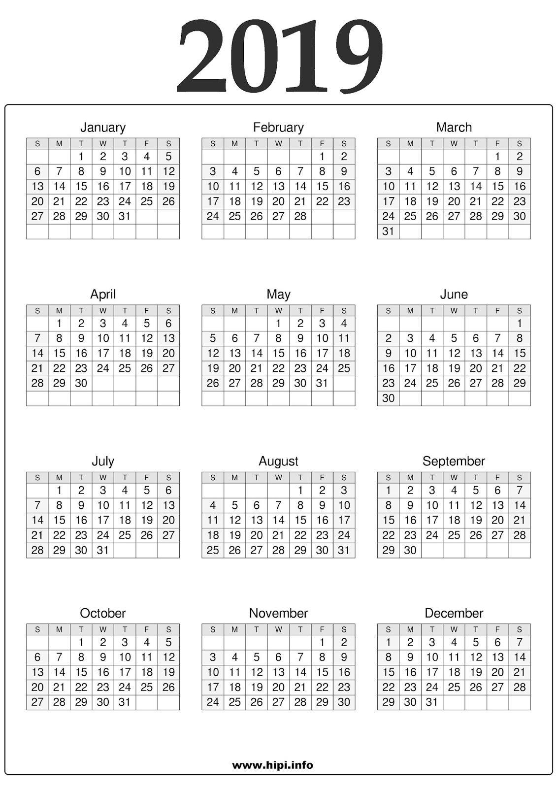 Calendars Printable Twitter Headers Facebook Covers 2