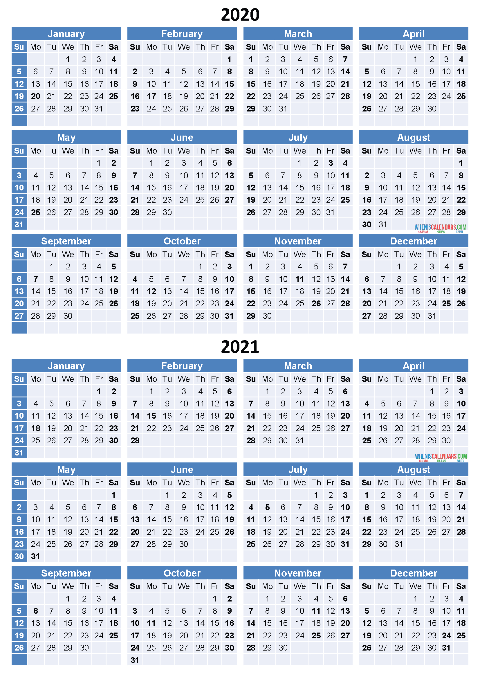 Catch Free Printable Calendar 2020 2020 2021 Calendar 1