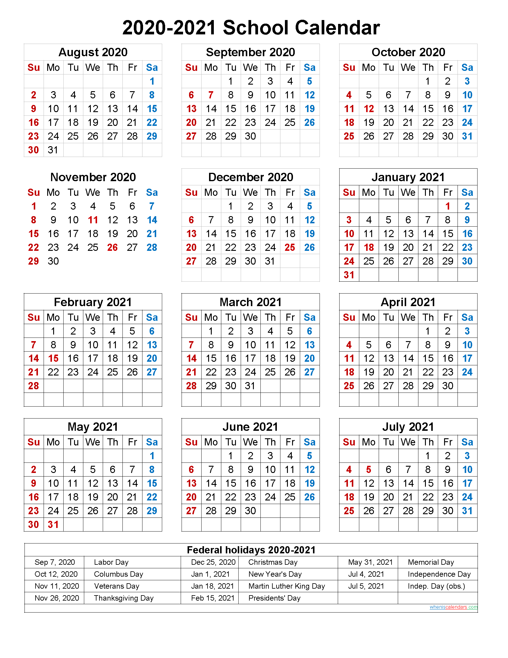 Catch Free Printable Calendar 2020 2020 2021 Calendar