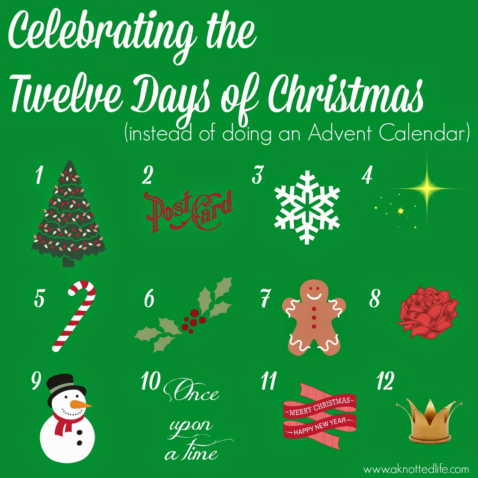 Celebrating The Twelve Days Of Christmas And How It