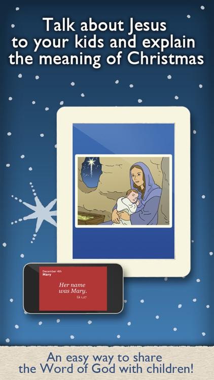 Christmas Advent Calendar For Christian Kids Families And