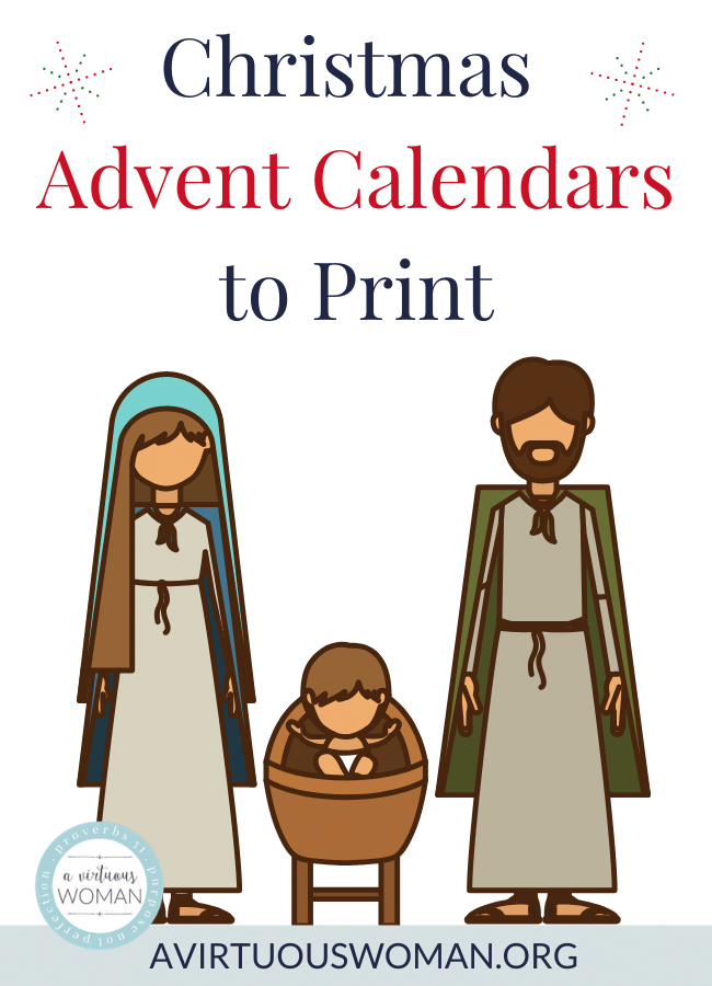 Christmas Advent Calendars To Print Print Calendar