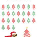 Christmas Countdown Free Download Printable Calendar 1