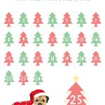 Christmas Countdown Free Download Printable Calendar 2