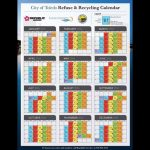 City Of Toledo Releases 2016 Refuse And Recycling Calender