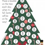 Crafty Christmas Countdown Free Printable As They Grow