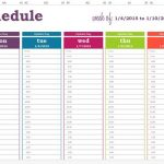Daily Planner With Time Slots Template Printable June