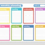Day Planner Template Cyberuse