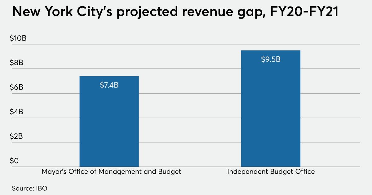 De Blasio Warns Of Stark New York Budget Landscape