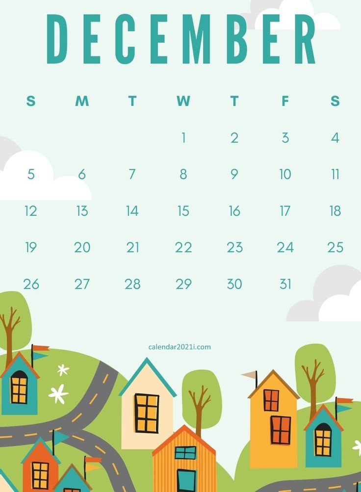 December 2021 Wall Calendar Printable Free Download For