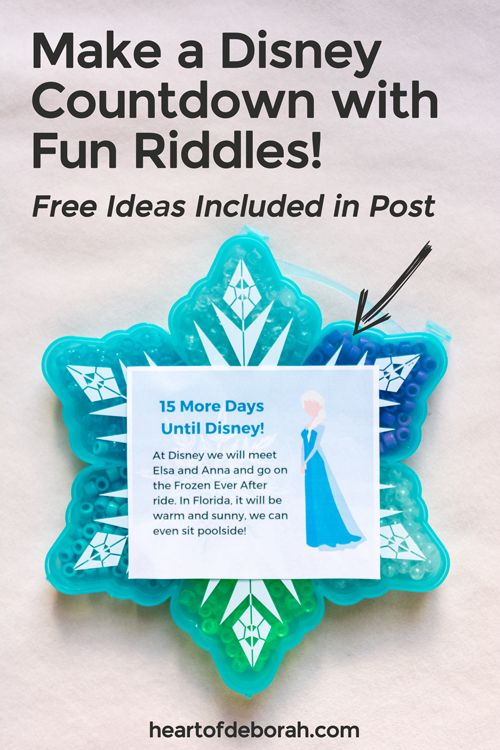 Diy Disney Countdown Calendar To Get Ready For Your Disney