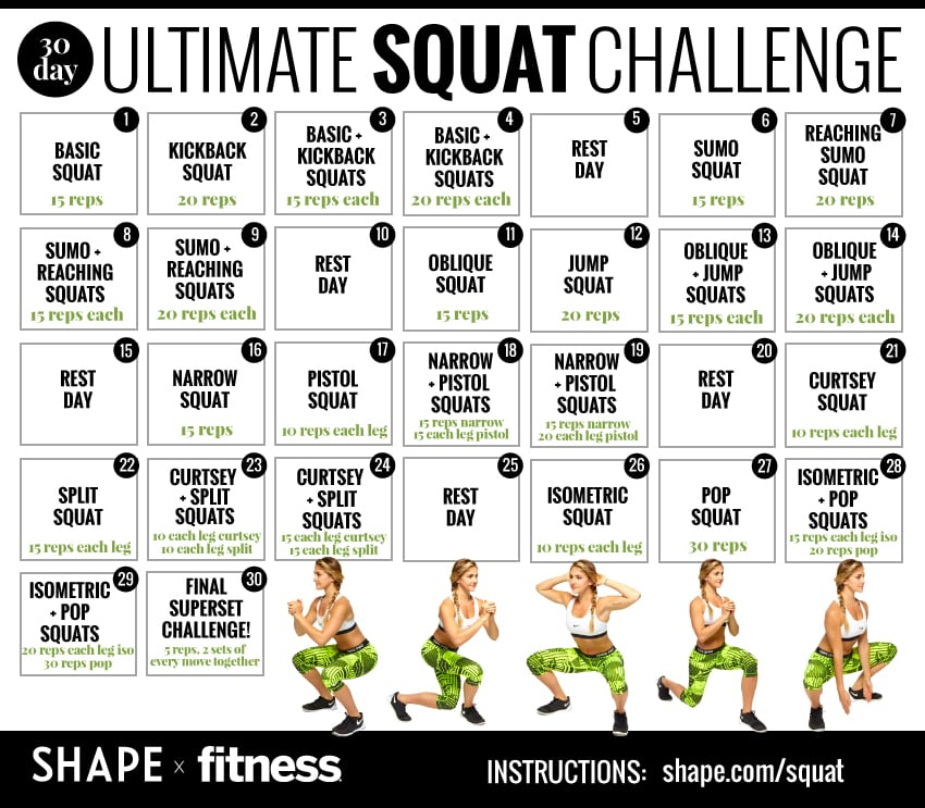 Does The 30 Day Squat Challenge Really Work The