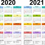 Download 2020 2021 Printable Calendar Free Letter Templates