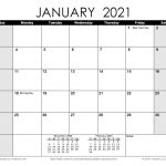 Download A Free Printable Monthly 2021 Calendar From 1