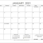Download The 2021 Ink Saver Calendar From Vertex42 In