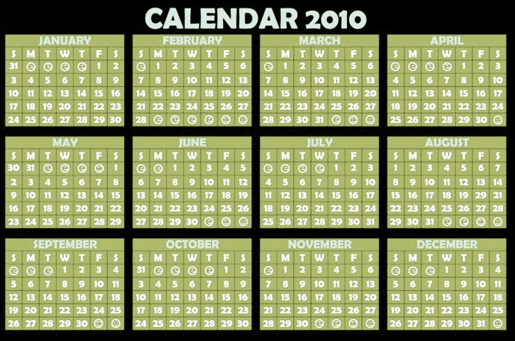 Download Wallpapers Free Year Calendar 2010