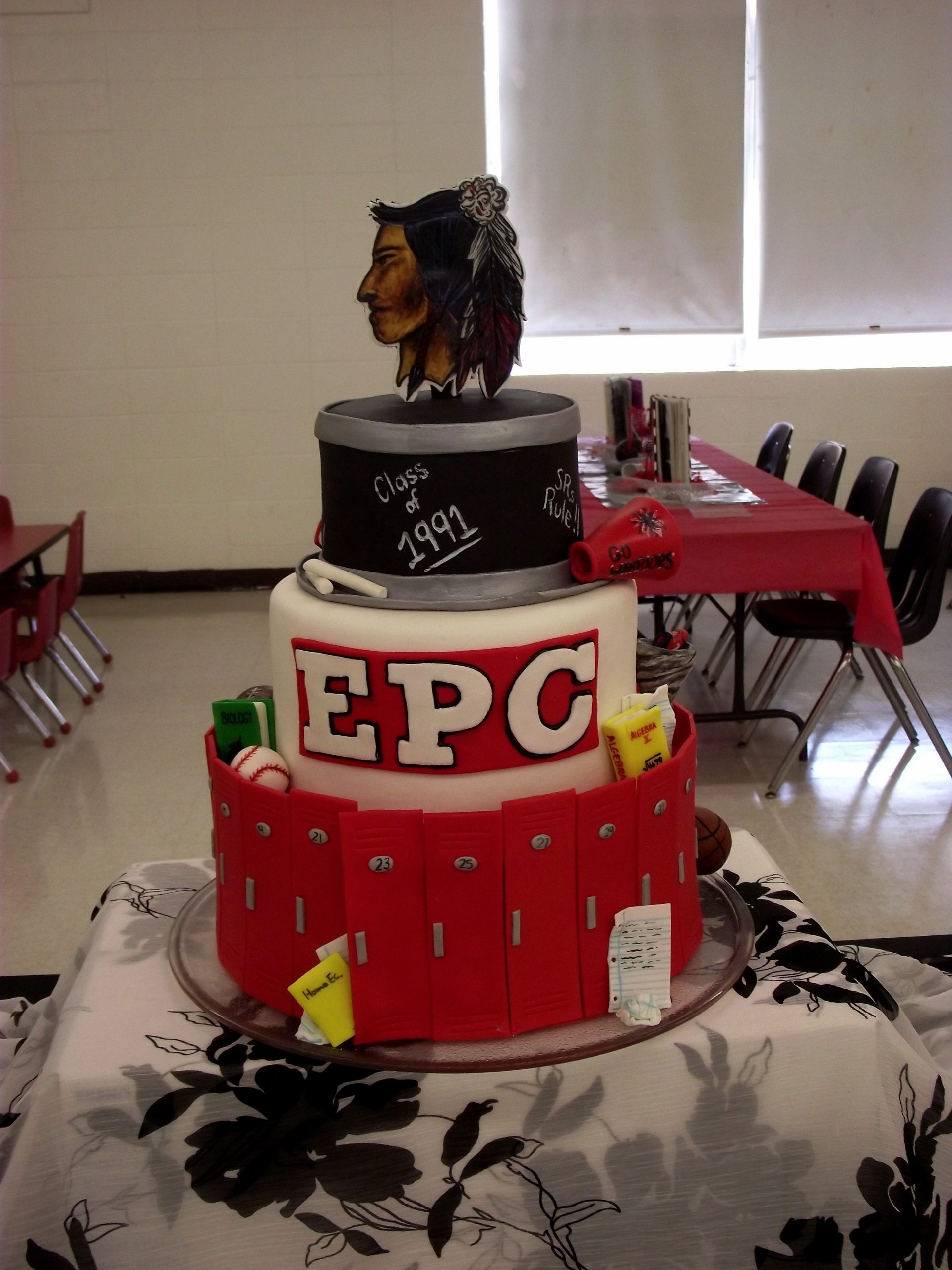 E P C Class Of 1991 I Made This Cake For My 20 Year