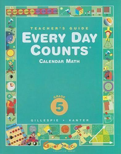 Every Day Counts Grade 5 Calendar Mathgillespie