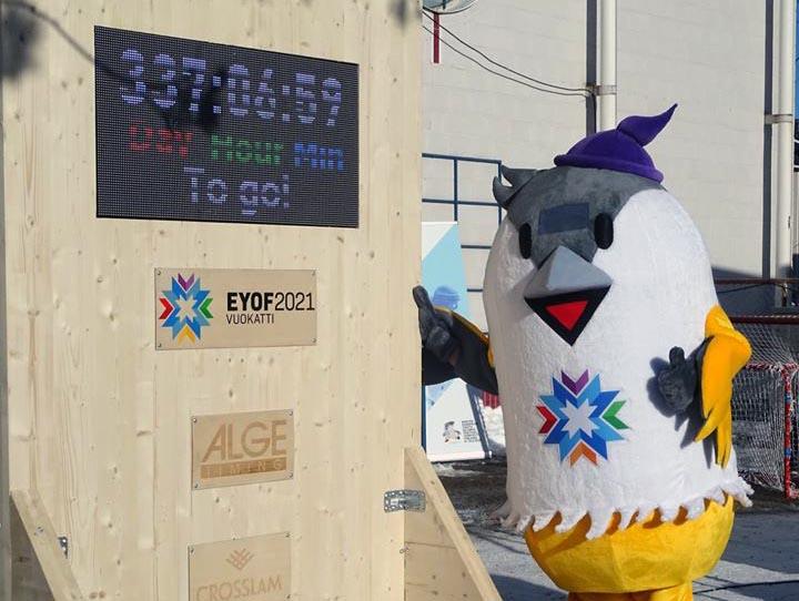 Eyof Vuokatti 2021 Countdown Officially Kicked Off The