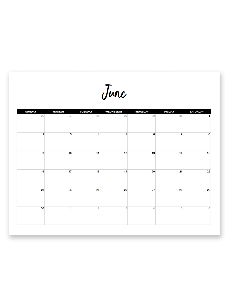 Free 8 5 X 11 Calendars Calendar Inspiration Design