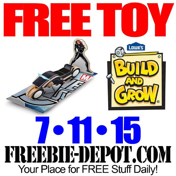 Free Black Widow Sky Cycle At Lowes Free Kid Craft